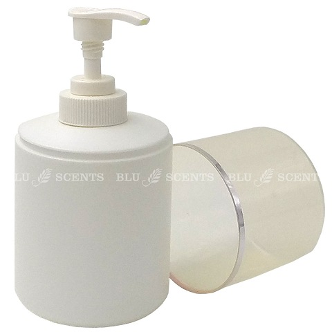 300ml Empty Plastic Bottle with Rotary Pump Head and Protective Cap