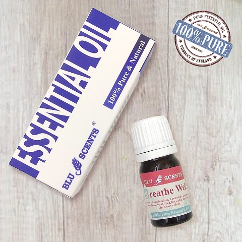 BREATHE WELL 5ml Pure Essential Oil