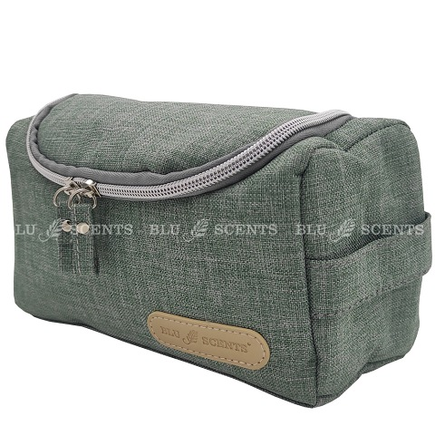 Exclusive Essential Oil Pouch Snowy Khaki Green