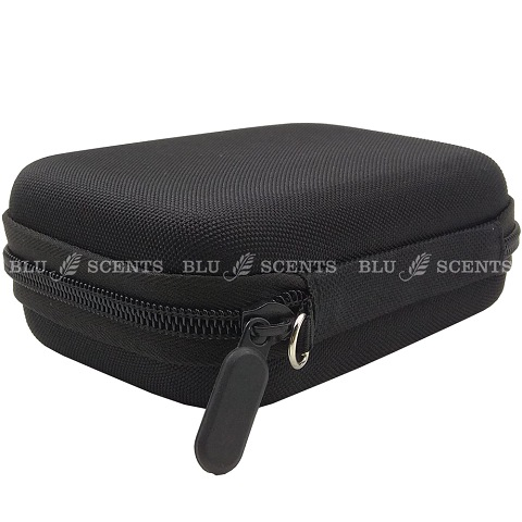 Black Traveling Pouch Roller Bottles