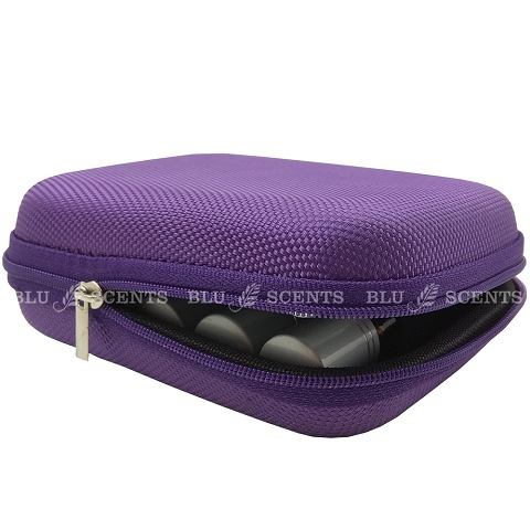 Purple Traveling Pouch Roller Bottles