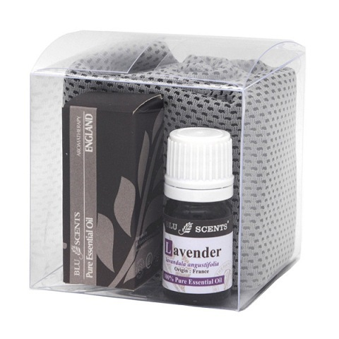 Lavender Natural Fever Rescue Kit Grey