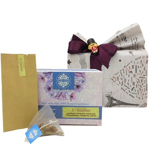 The Blu Garden I-Soother Flower Tea Christmas Gift Pack